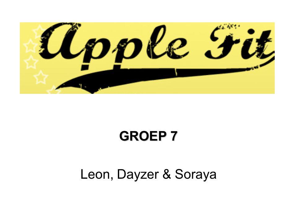 GROEP 7 Leon, Dayzer & Soraya