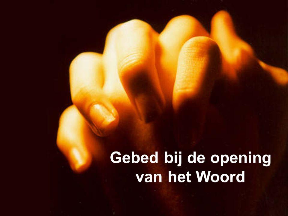 Gebed bij de opening van het Woord