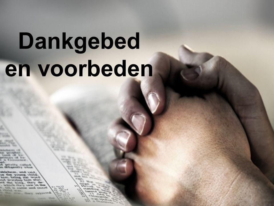 Dankgebed en voorbeden