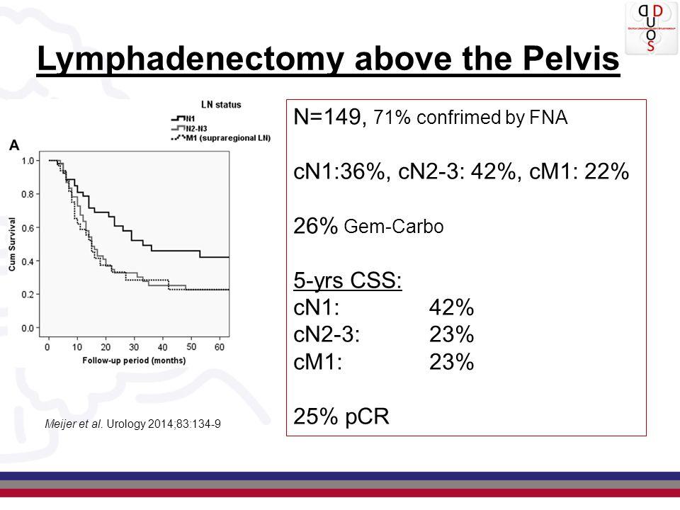 Neoadjuvant Chemotherapy in NL: Hospital of Cystectomy N % NAC OR 95% CI Academic hospital116610%2.191.60-2.99 NKI-AVL46829%8.015.91-10.86 Teaching hospital28677%1.851.35-2.53 Non-Teaching hospital46954%1.00