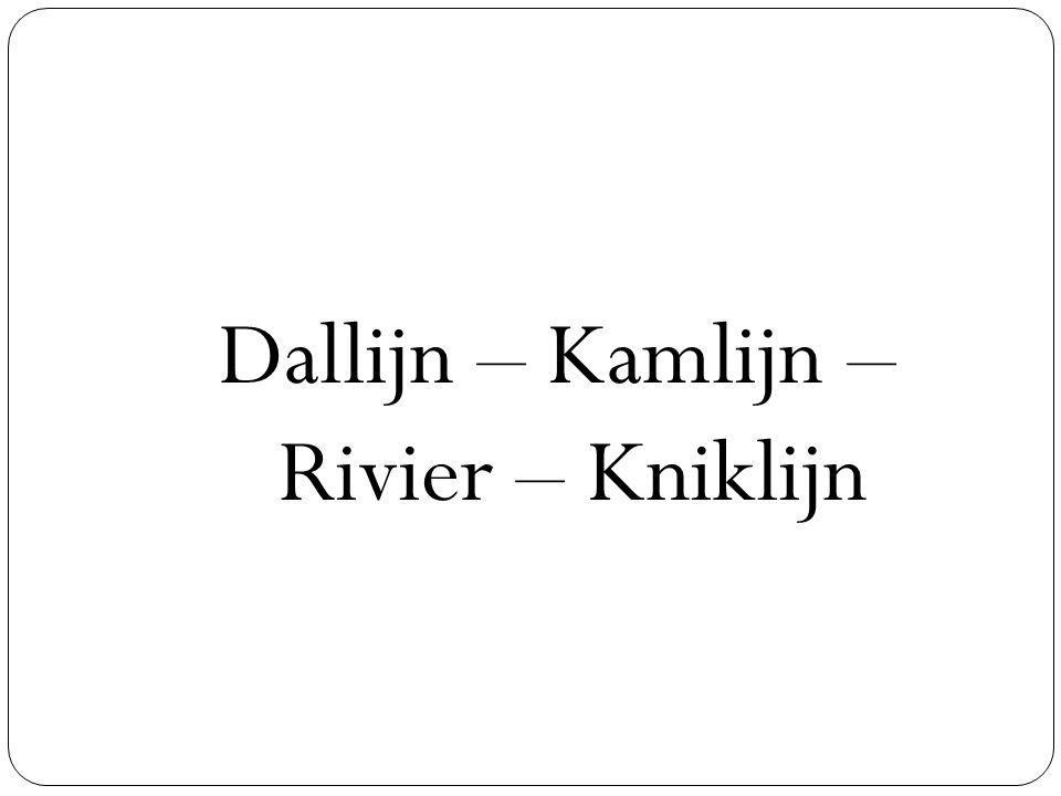 Dallijn – Kamlijn – Rivier – Kniklijn
