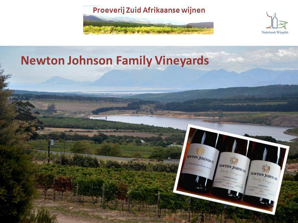 Proeverij Zuid Afrikaanse wijnen Newton Johnson Family Vineyards