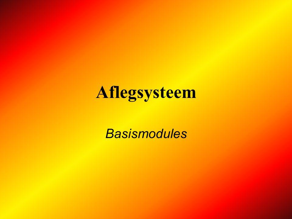 Aflegsysteem Basismodules