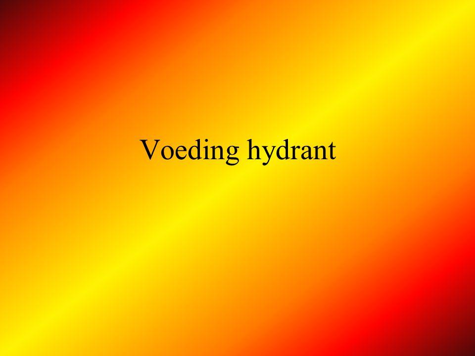 Voeding kleine tankwagen Afleg : KT B vraagt water aan A AP WATER .