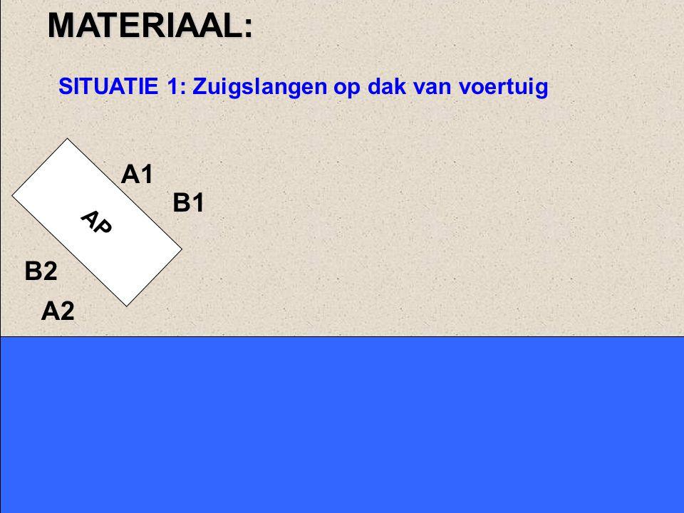 AP A2 B2 B1MATERIAAL neemt zuigkorf, slijkzeef en vlotter A1