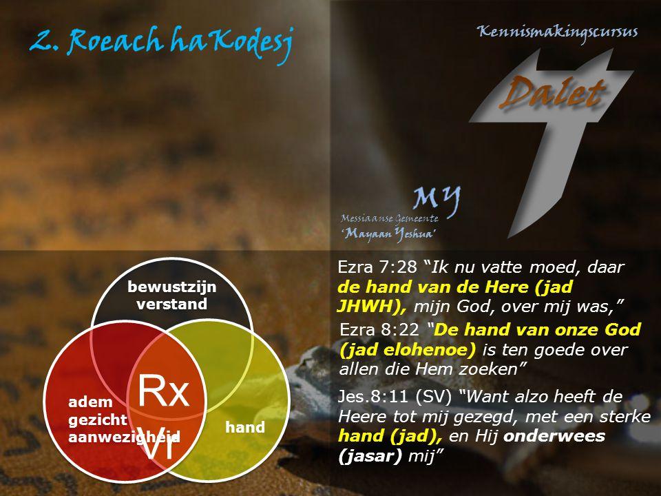 """Ezra 7:28 """"Ik nu vatte moed, daar de hand van de Here (jad JHWH), mijn God, over mij was,"""" Ezra 8:22 """"De hand van onze God (jad elohenoe) is ten goede"""