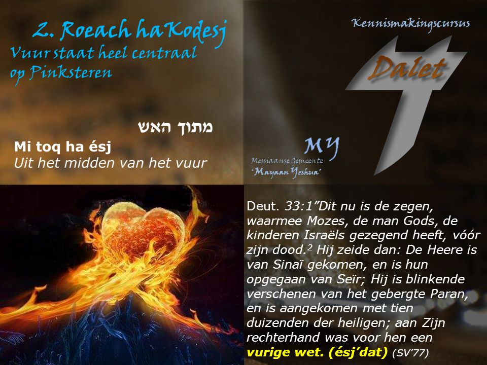 Deut.4:15 vanuit het vuur Deut.5:4: vanuit het vuur Deut.5:5 bang voor het vuur Deut.5:22 vanuit het vuur Deut.5:23 berg in vuur en vlam Deut.5:24 van