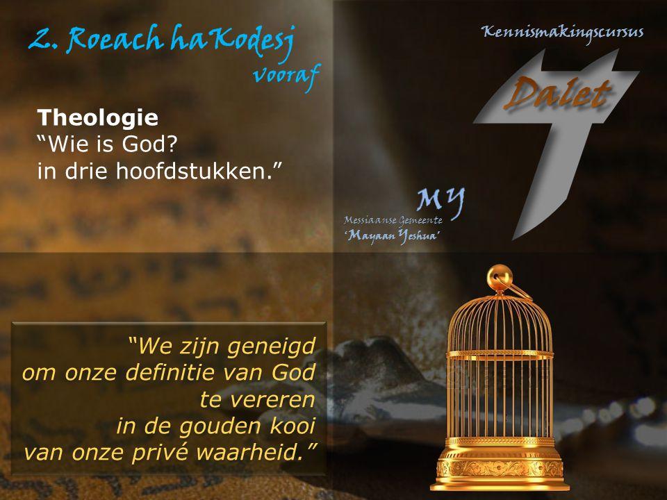 """""""We zijn geneigd om onze definitie van God te vereren in de gouden kooi van onze privé waarheid."""" """"We zijn geneigd om onze definitie van God te verere"""