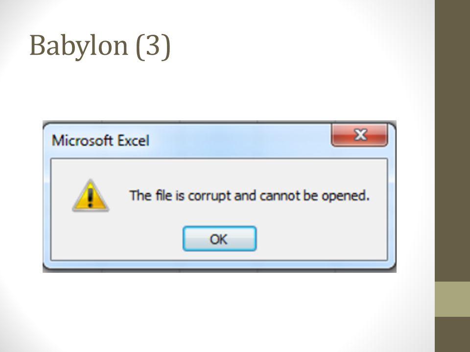 Babylon (3)