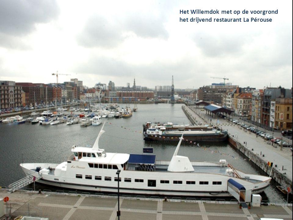 De nieuwe jachthaven Antwerpen Willemdok