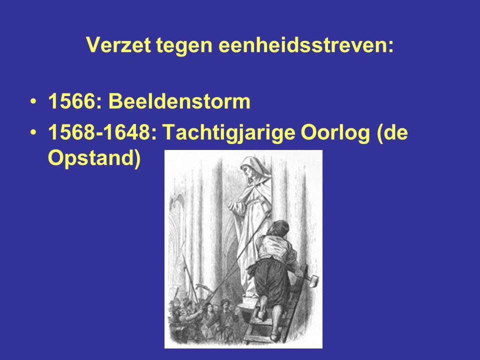 Karel de Vijfde en zijn opvolger Filips de Tweede wilden de Nederlanden verenigen tot één staat, met één centraal gezag en één geloof, het rooms-katholieke Karel V Filips II