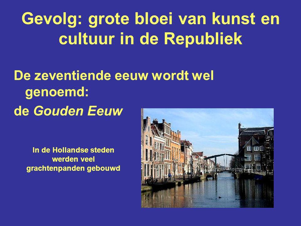 Sociaal-economische achtergronden: Amsterdam maakt een explosieve groei door nadat Antwerpen in Spaanse handen valt Omstreeks 1570: minder dan 30.000 inw.