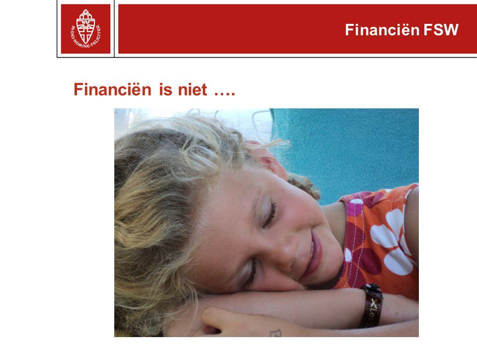 Reservepositie 2010 Financiën FSW (x € 1 mln.)eindstand Algemene reserve faculteit (incl.