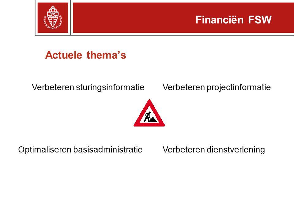 Voorbeeld budgetinfo (interne begroting) Financiën FSW Projectinformatie: 24000XXX Rapportdatum: 11-11-10 ProjectnrProjectstatusStart DatumGereed DatumAccountantsverklaringBTW 24000XXXLopend1-3-20081-3-2012Nee ProjectnrProjectnaamProjectmanagerContract Nr.KlantnaamBedrag 100.000,00 Som:€ 100.000,00 TypeBudgetKostenVerplichtingenSaldo 1.