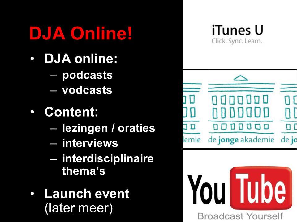 DJA Online.