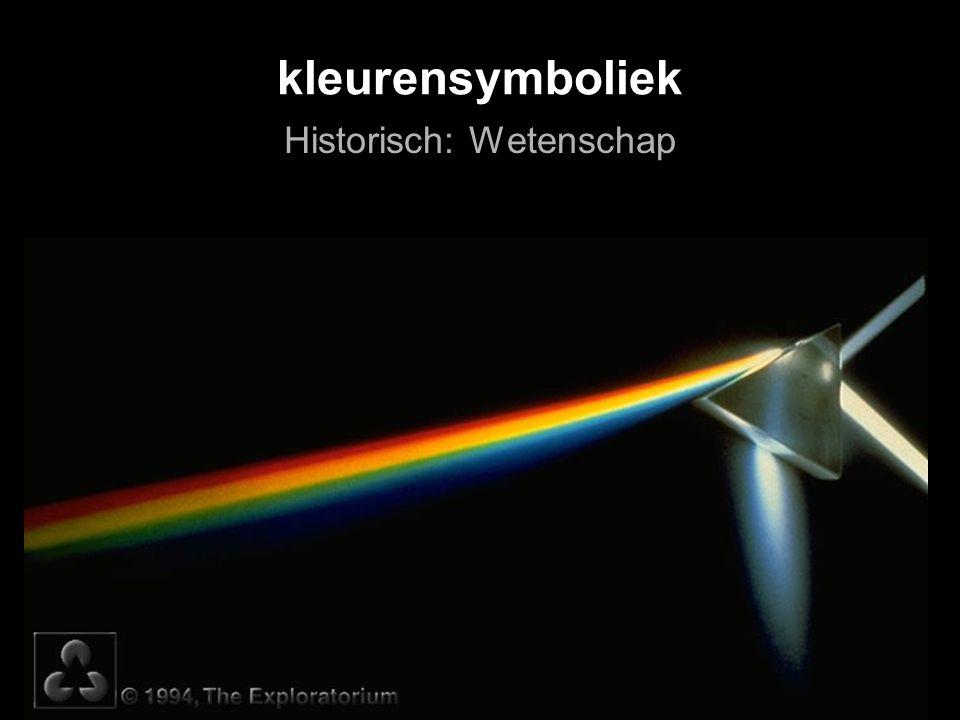 kleurensymboliek Historisch: Wetenschap