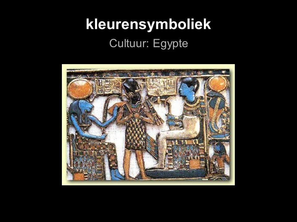Cultuur: Egypte kleurensymboliek