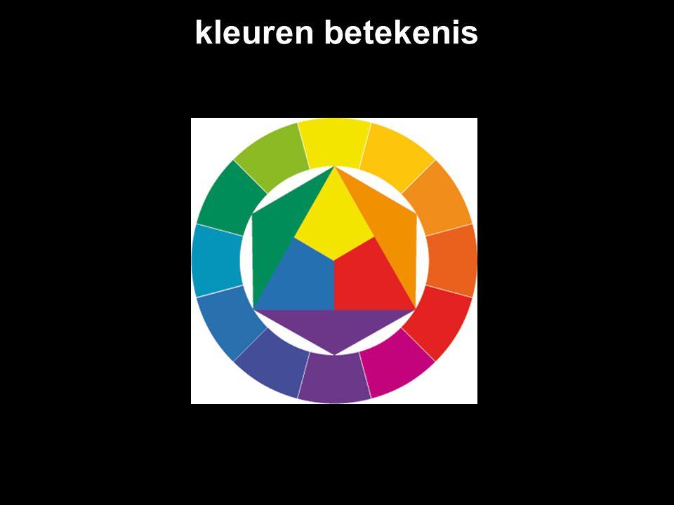 kleuren betekenis