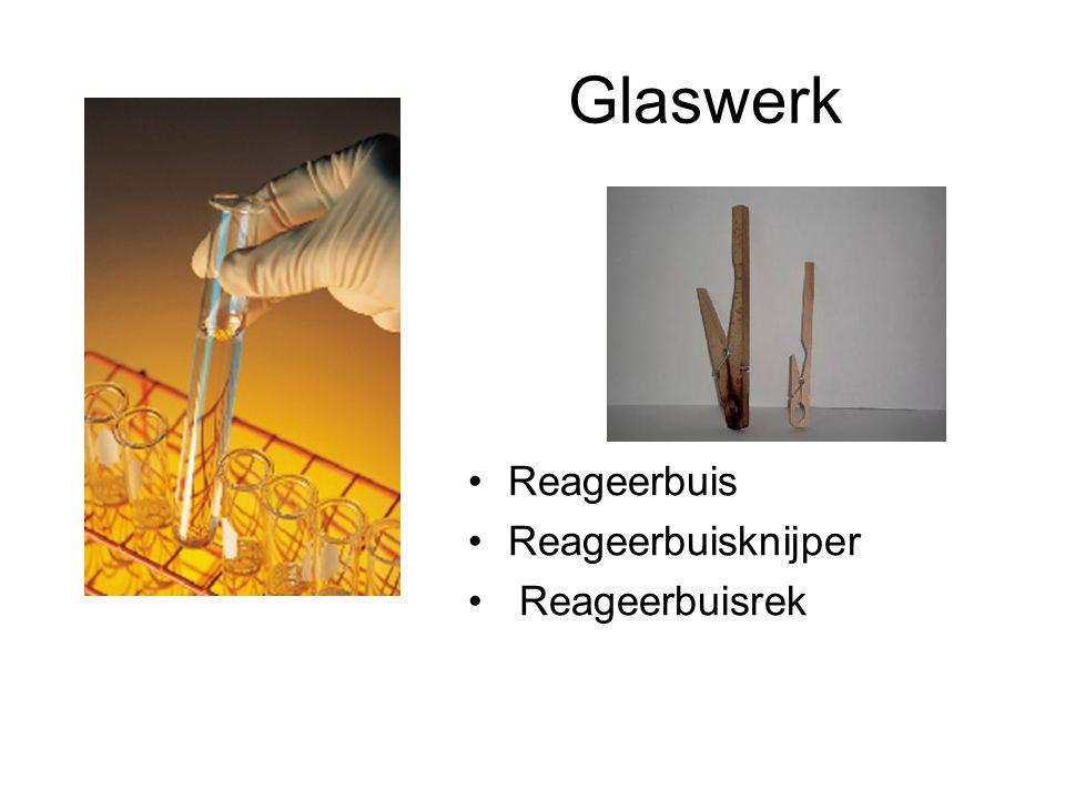 Glaswerk Reageerbuis Reageerbuisknijper Reageerbuisrek