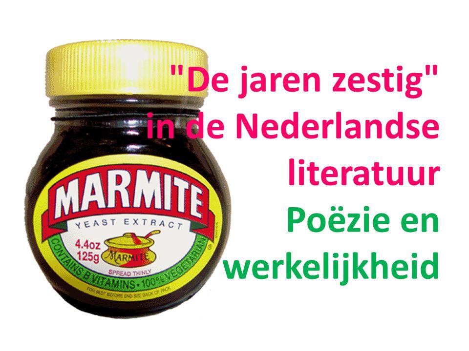 De jaren zestig in de Nederlandse literatuur Poëzie en werkelijkheid