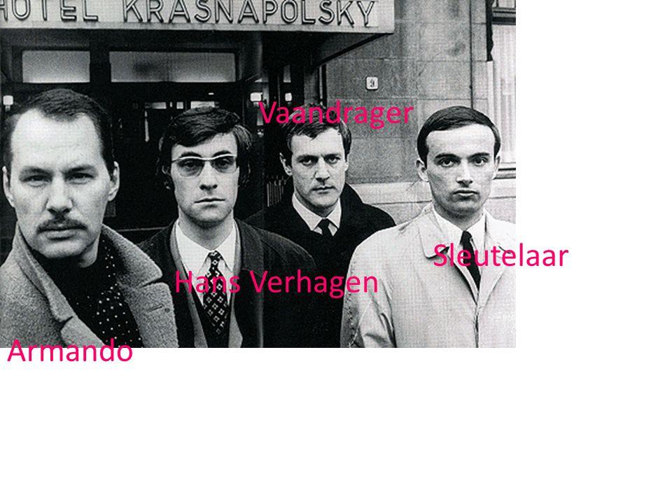 Vaandrager Sleutelaar Hans Verhagen Armando