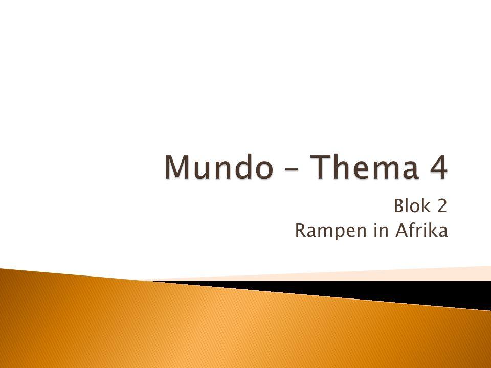 Blok 2 Rampen in Afrika