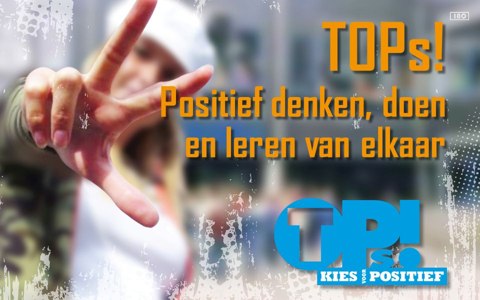TOPs.is een product van Startbijeenkomsten TOPs.