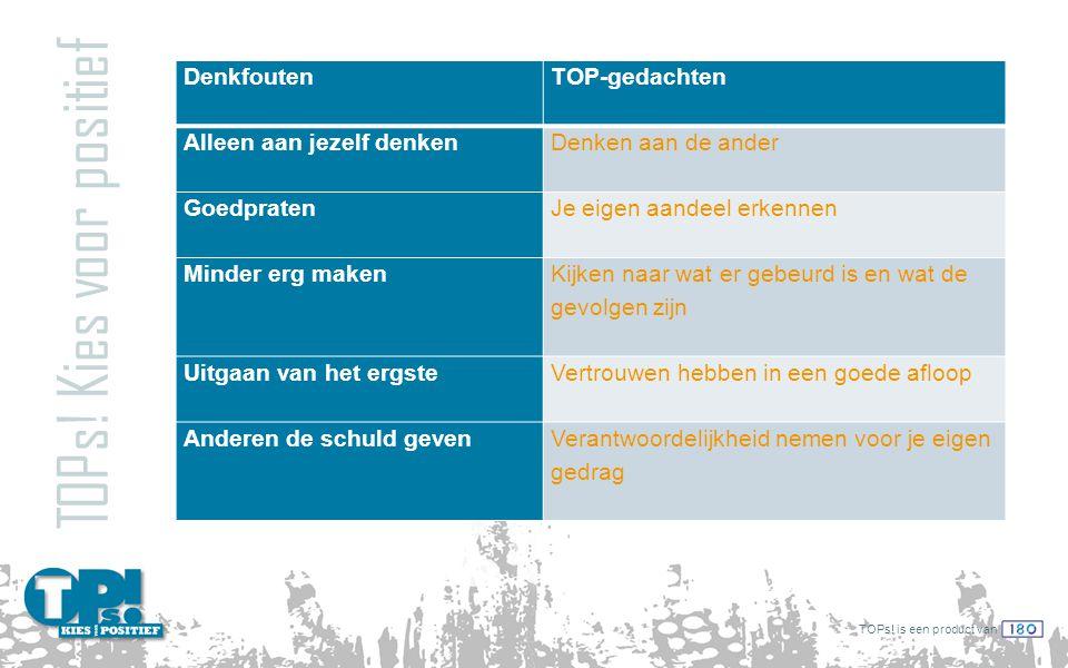 TOPs.is een product van TIP-bijeenkomsten TOPs.