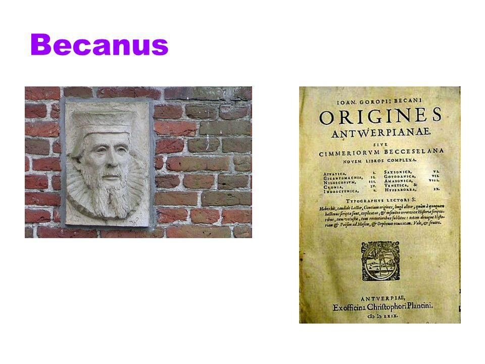Het bekendste doolpad uit het werk van Becanus is de stelling in Origines Antverpianae (1572) dat Adam en Eva in het aards paradijs Vlaams hebben gesproken.