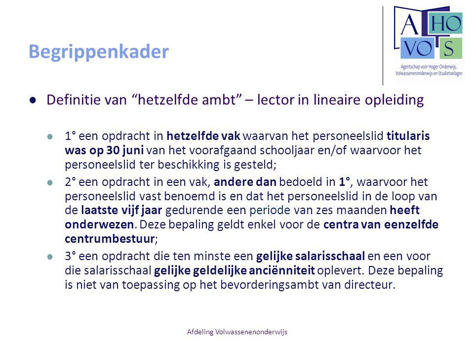 Afdeling Volwassenenonderwijs Vlaamse Reaffectatiecommissie Communicatie met de Vlaamse Reaffectatiecommissie De toewijzingen gebeuren op basis van de zendingen in het Elektronisch Personeelsdossier (EPD) De gegevens van de personeelsleden die ter beschikking gesteld zijn wegens ontstentenis van betrekking en de tijdelijke personeelsleden meldt u met een elektronisch bericht melding opdracht(en) (via RL-1) aan AHOVOS.