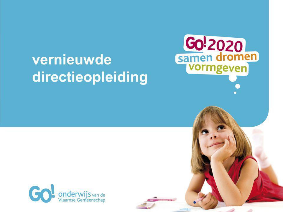 Uitgangspunt: visie op leren Doel: toenemende competentieontwikkeling als schoolleider GO.