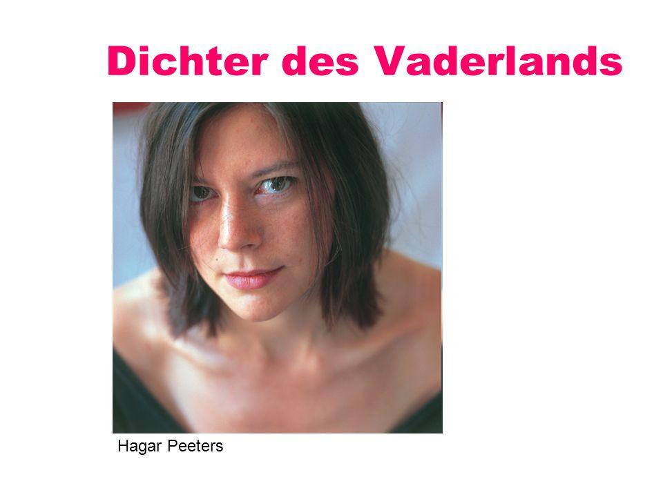 Dichter des Vaderlands Hagar Peeters