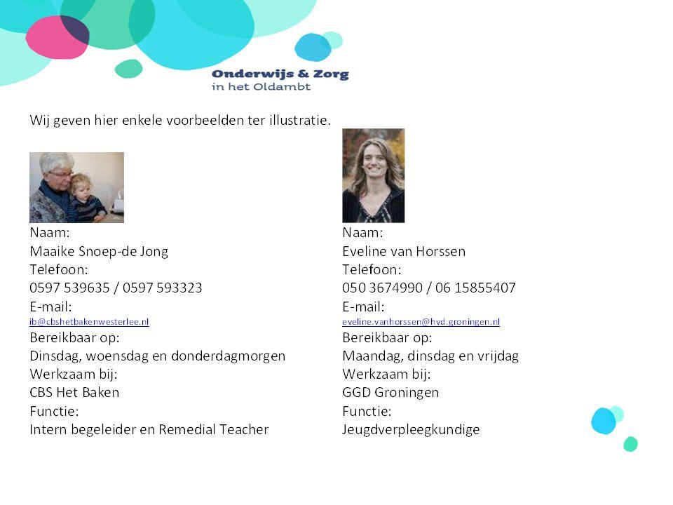 Vraag vandaag Wat is het rendement Onderwijs Zorg Concept en CJG over 1 en 5 jaar.