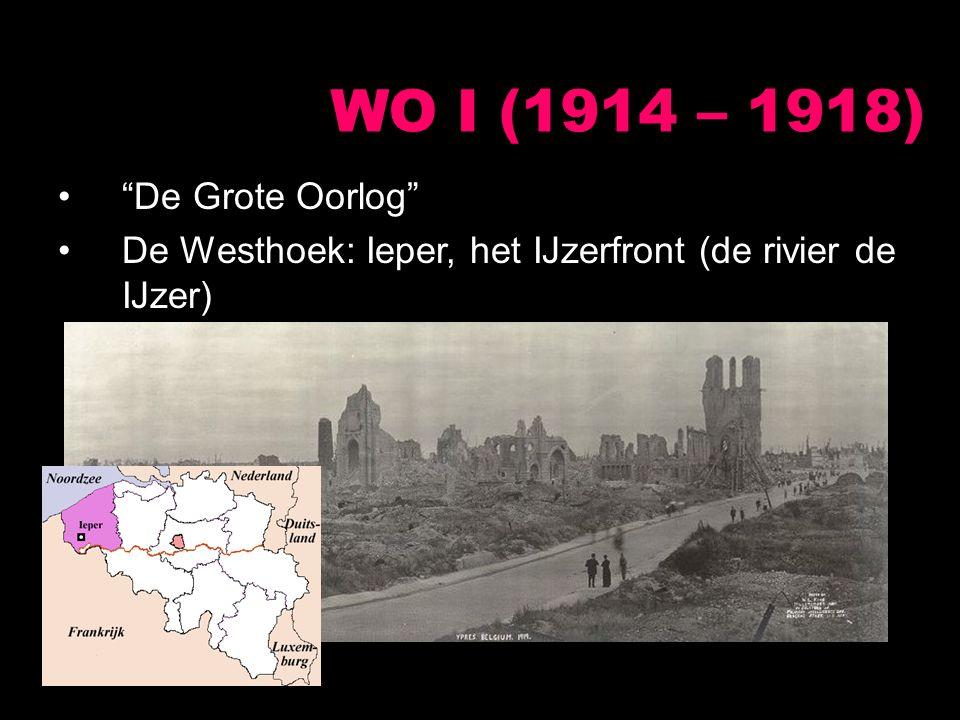 """""""De Grote Oorlog"""" De Westhoek: Ieper, het IJzerfront (de rivier de IJzer)"""