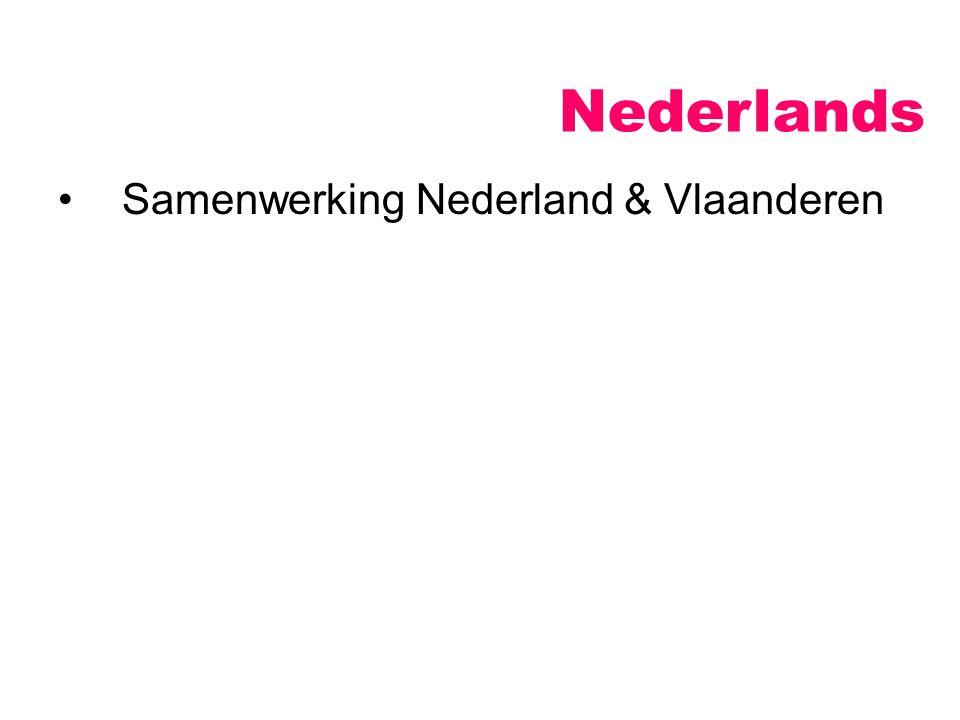 Nederlands Samenwerking Nederland & Vlaanderen