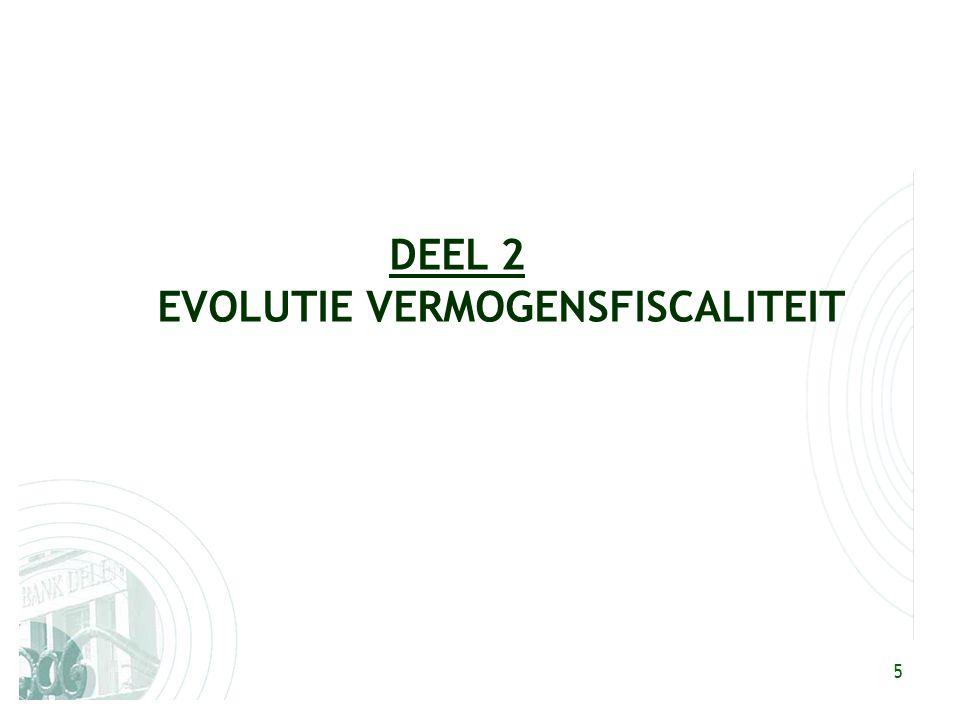 5 DEEL 2 EVOLUTIE VERMOGENSFISCALITEIT