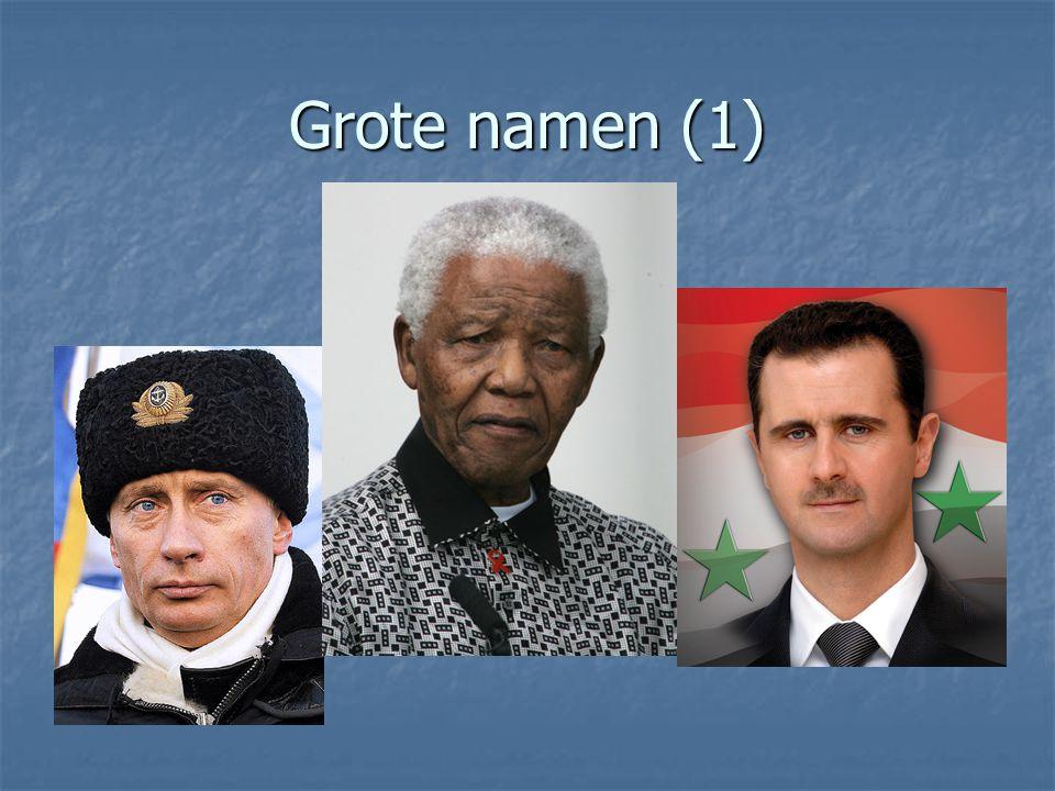 Grote namen (1)