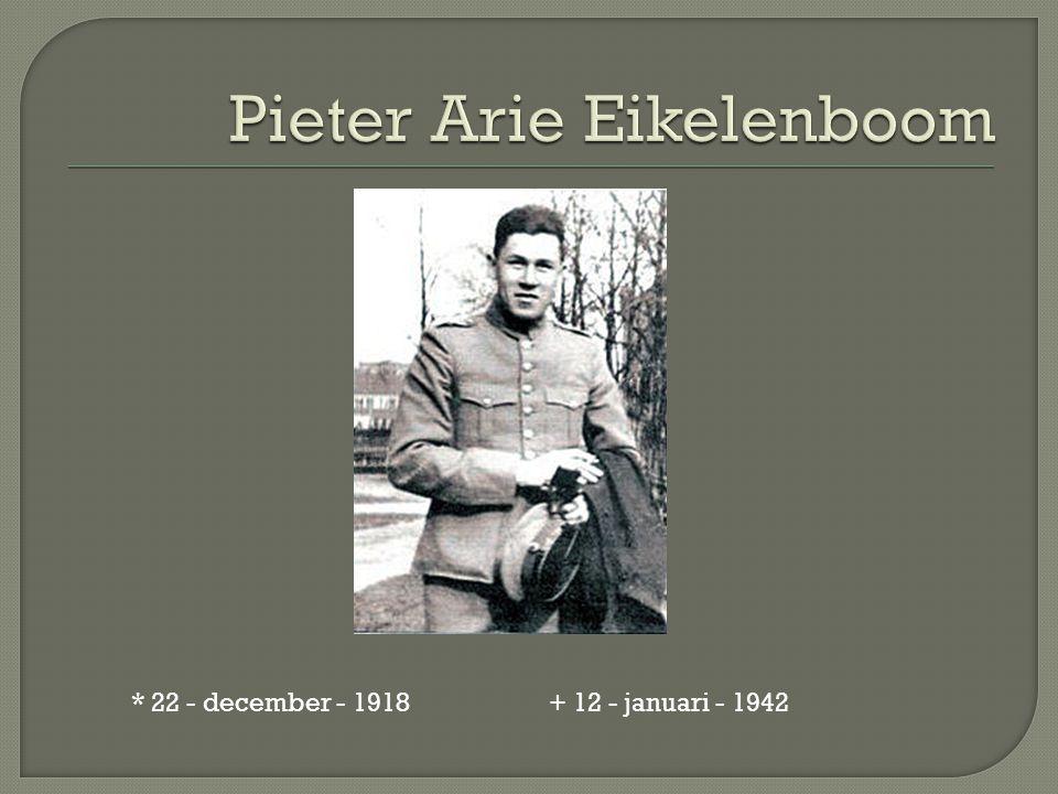 * 22 - december - 1918 + 12 - januari - 1942