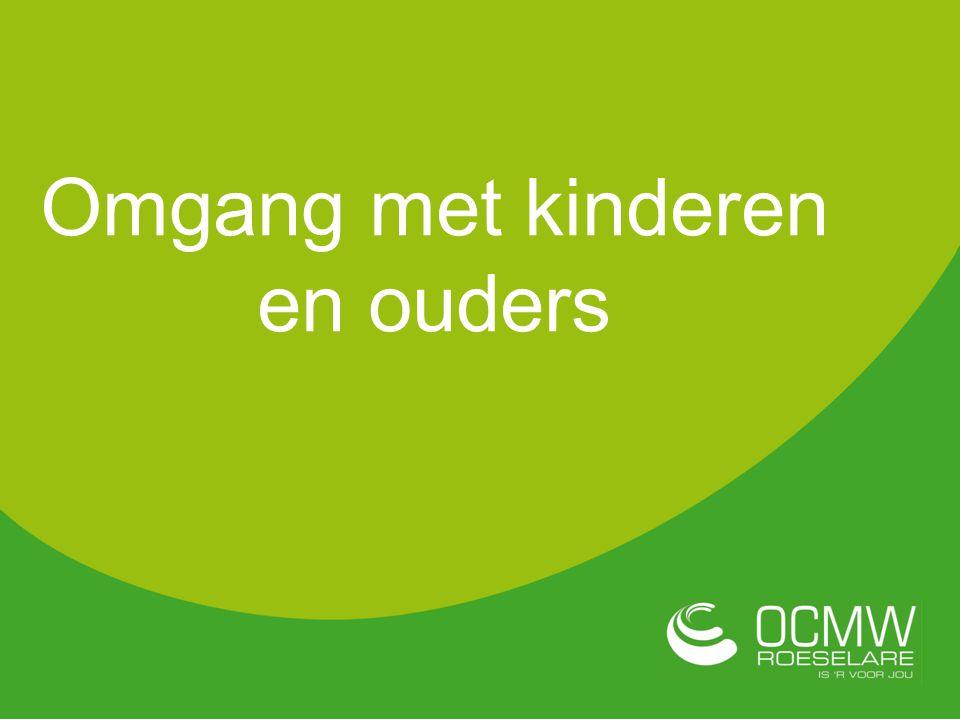 Omgang met kinderen en ouders