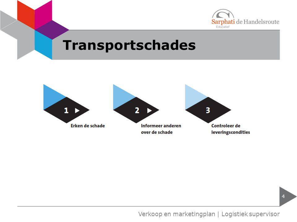 Averij grosse 5 Verkoop en marketingplan   Logistiek supervisor