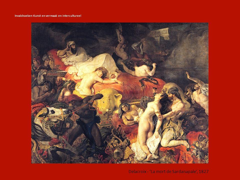 Invalshoeken Kunst en vermaak en intercultureel Ingres – 'La Grande Odalisque', 1814 Ingres – 'Le Bain Turc', 1862 Kunst intercultureel: invloeden van niet-westerse landen op westerse kunst