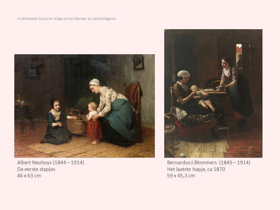 Invalshoeken Kunst en religie en Kunstenaar en opdrachtgever Willem Bartel van der Kooi (1768-1836) Zogende moeder, 1826 Olieverf op doek, 72 x 89 cm