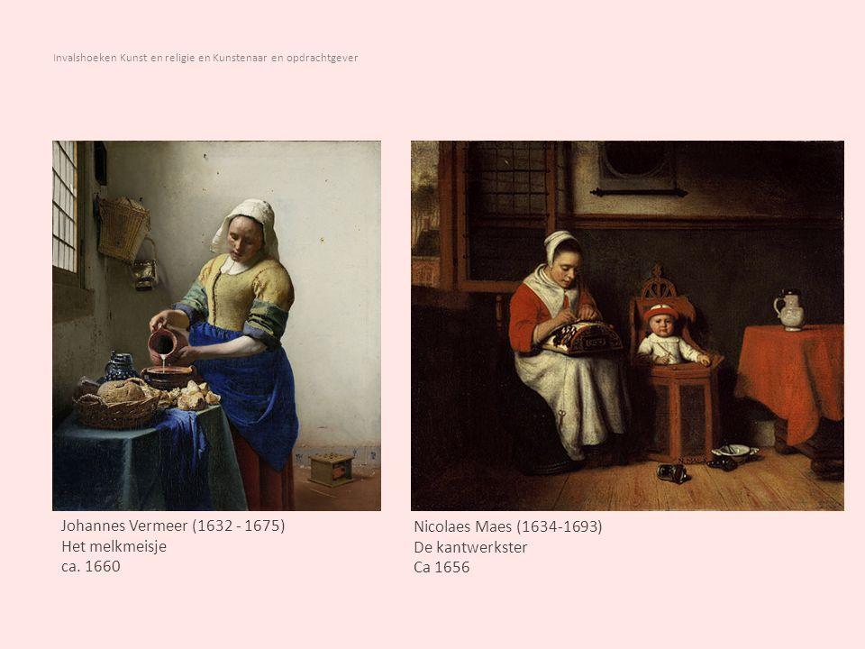Invalshoeken Kunst en religie en Kunstenaar en opdrachtgever Albert Neuhuys (1844 – 1914) Vissersvrijage, 1880 78 x 59,5 cm Bernardus Johannes Blommers (1845 – 1914) Op vrijersvoeten, aquarel 71 x 51 cm