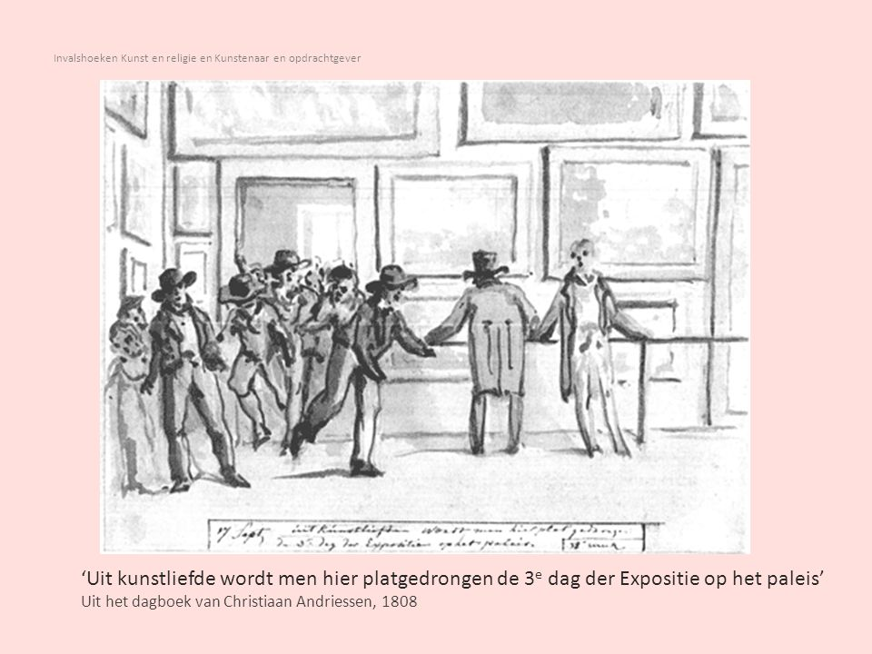 Invalshoeken Kunst en religie en Kunstenaar en opdrachtgever Nicolaes Maes (1634-1693) De kantwerkster Ca 1656 Johannes Vermeer (1632 - 1675) Het melkmeisje ca.