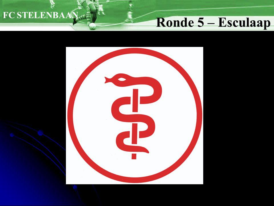 FC STELENBAAN Ronde 5 – Esculaap