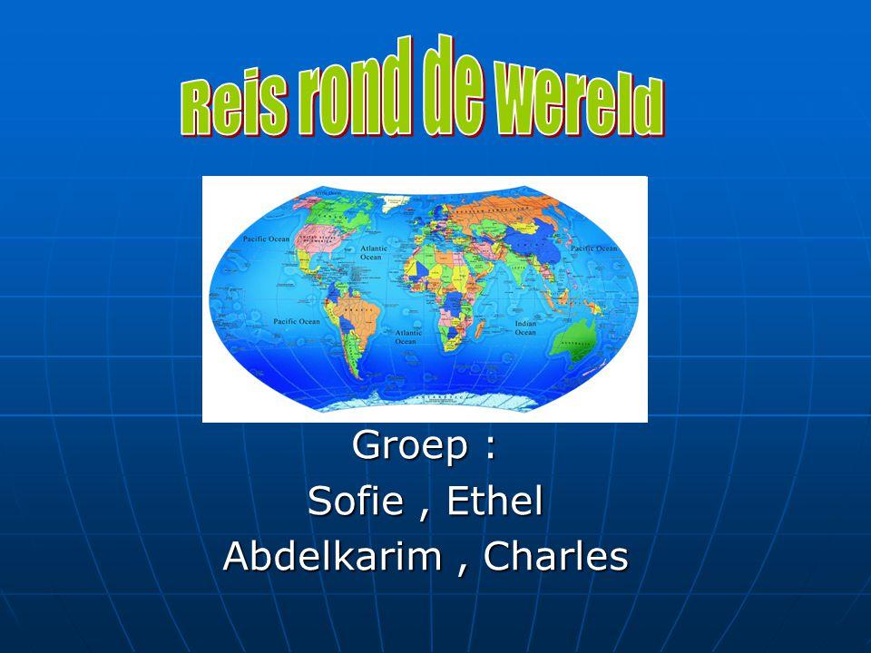 Groep : Sofie, Ethel Abdelkarim, Charles