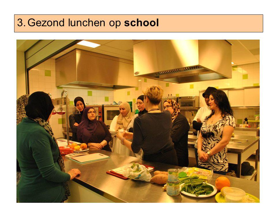 3.Gezond lunchen op school