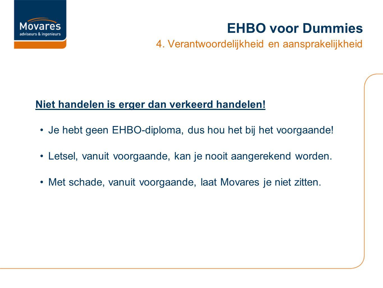 EHBO voor Dummies 4.