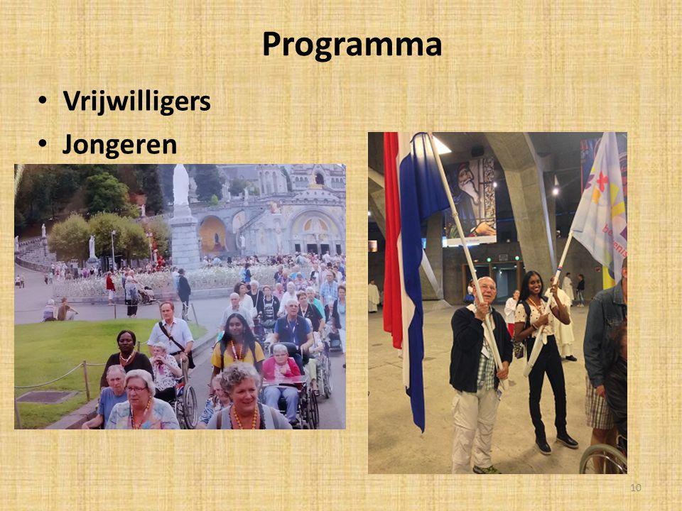Programma Vrijwilligers Jongeren 10