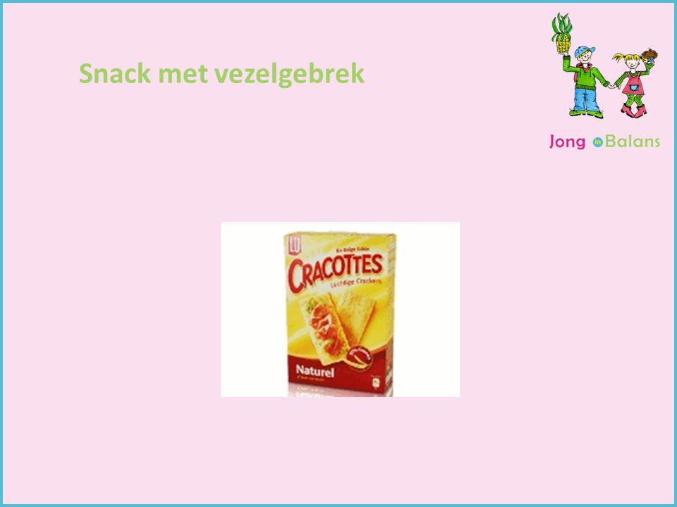 Gewichtsconsulent Begeleiding van kinderen Kindercoach Snack met vezelgebrek